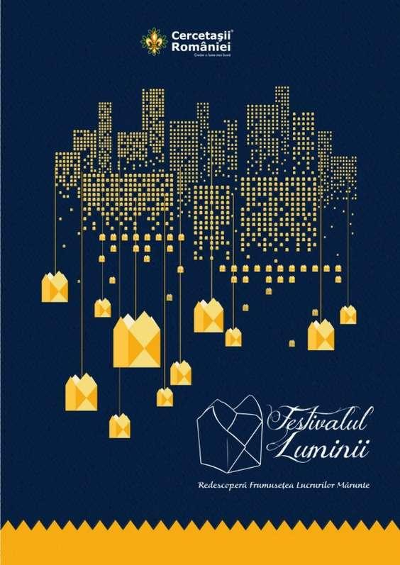 Poster Festivalul Luminii