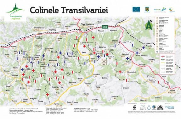Trasee Colinele Transilvaniei. Copyright Asociatia Mioritics