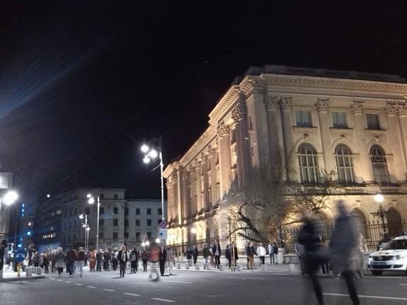 calea victoriei pietonala RomaniaPozitiva palatul regal