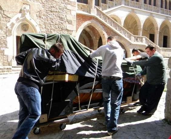 pianul calator Hunedoara