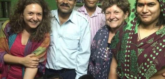 POVESTE & FOTO: Cu parintii in India :)