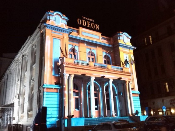 teatrul odeon luminat spotlight festival romaniapozitiva