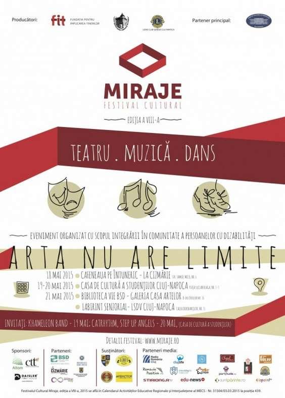 Afis Festival Miraje, editia a VIII-a