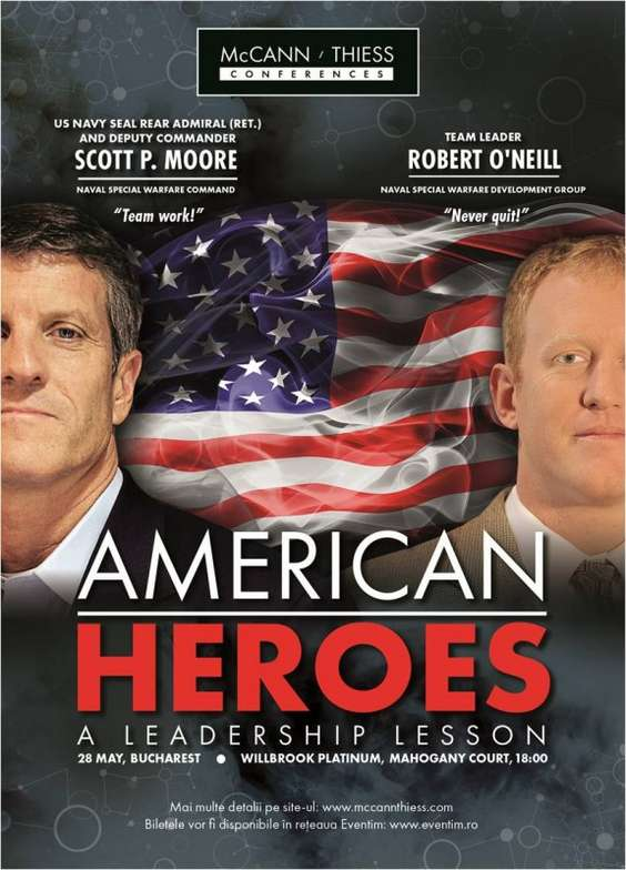 American Heroes, A Leadership Lesson