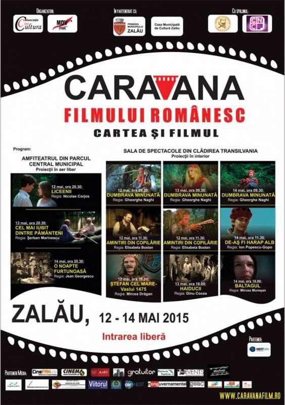 Caravana filmului romanesc Zalau 2015