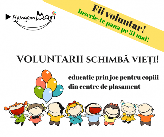 Devino voluntar in centre de plasament