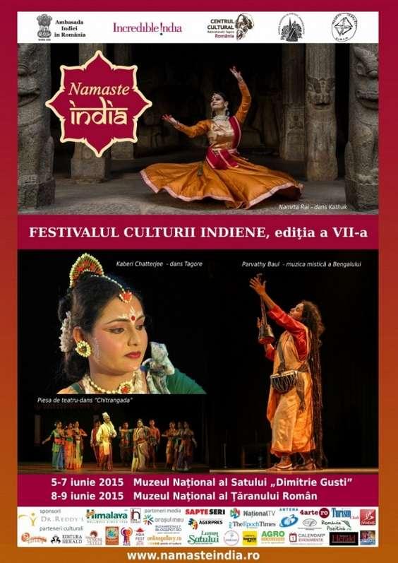 Festivalul Namaste India 5-9 iunie 2015 - web