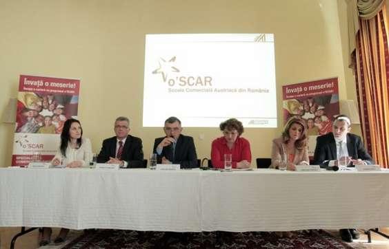 Lansare o'SCAR - Scoala Comerciala Austriaca din Romania