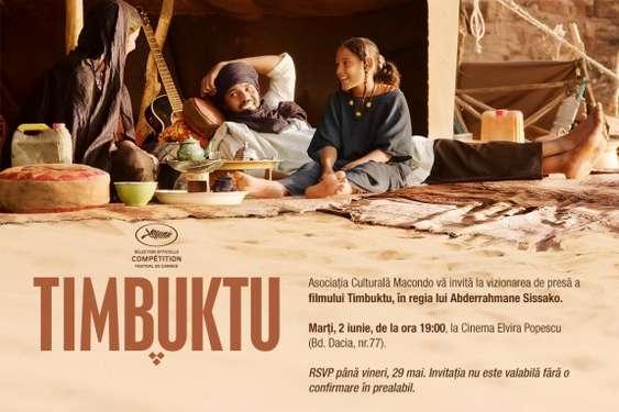 invitatie la film TIMBUKTU