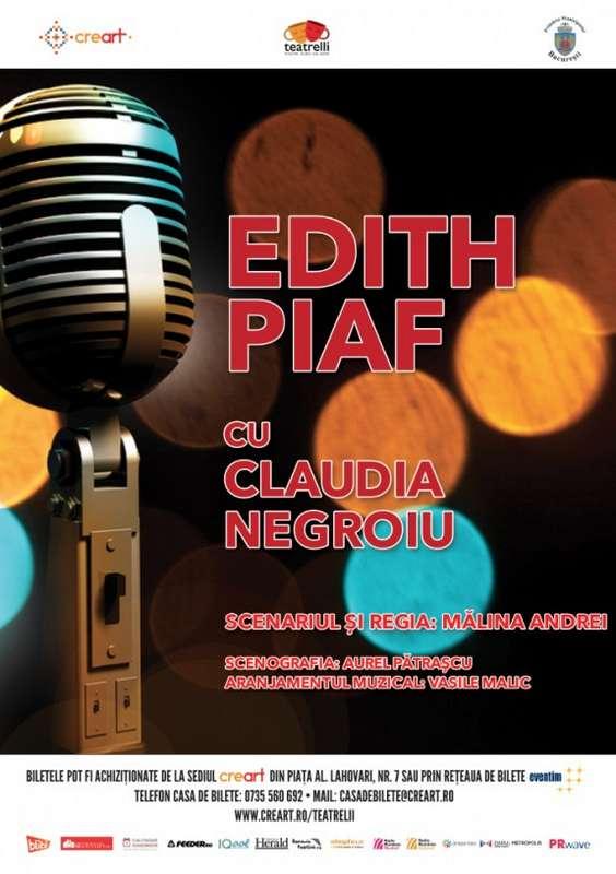 Afis Edith Piaf