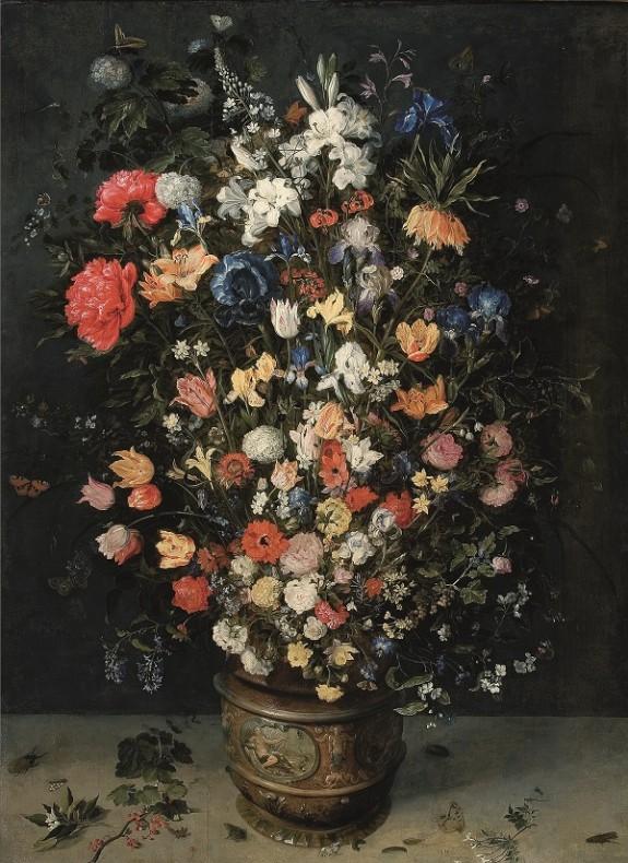 Buchet de flori de Jan Brueghel cel Batran si Frans Francken II