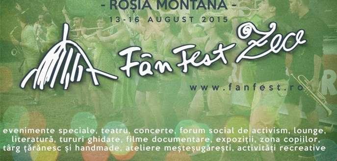 ROȘIA MONTANĂ: Ediție aniversară: 10 ani de FânFest! Noi începuturi