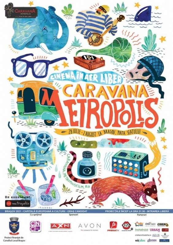 Caravana Metropolis - Brasov