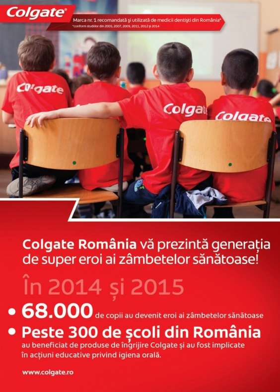 Colgate Romania_Eroii zambetelor sanatoase