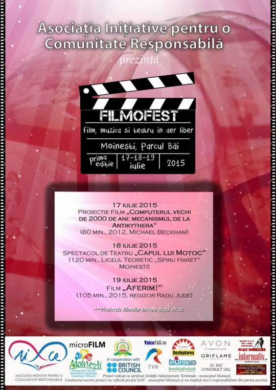 afis AICR Moinesti FilMoFest 2015