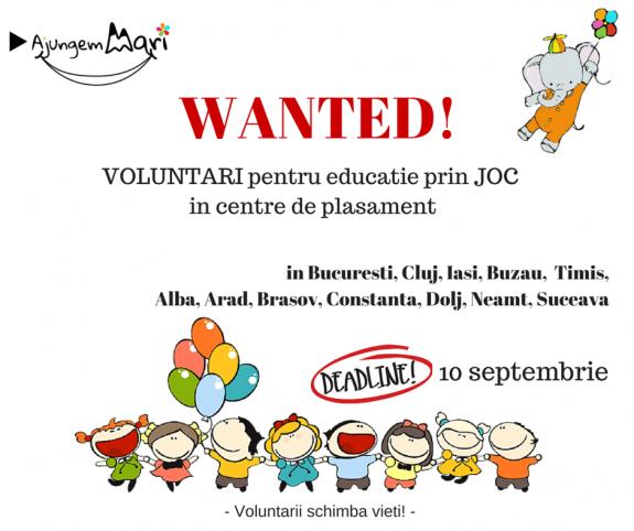 Apel national la voluntariat