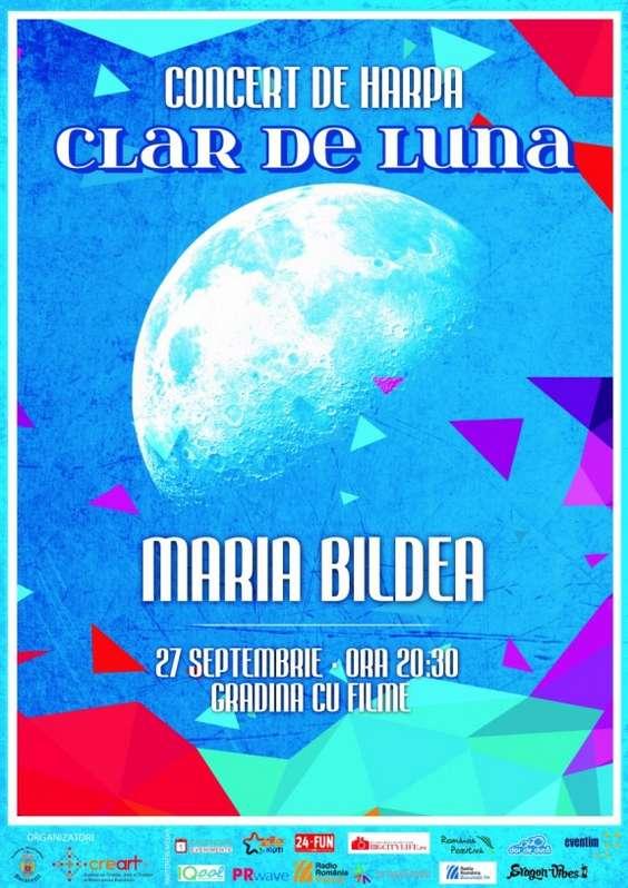 Afis Maria Bildea - Clar de luna