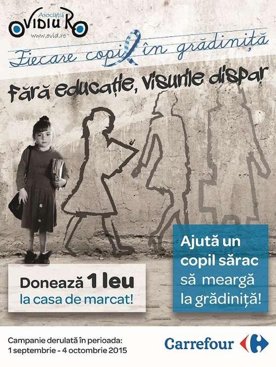Campania de donatii la case - Ovidiu  Ro & Carrefour