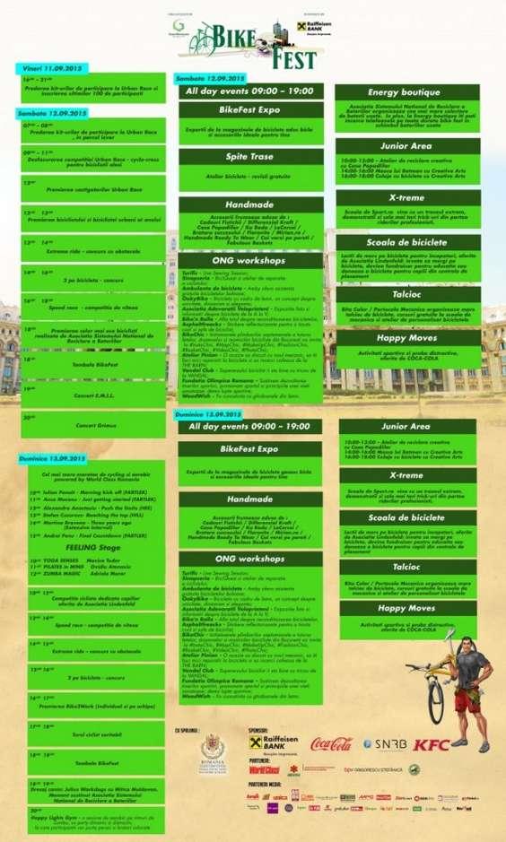Program BikeFest 2015