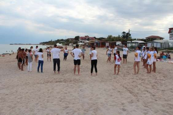 act. pe plaja