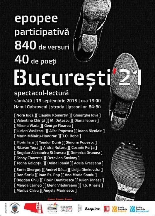 afiș Bucuresti21