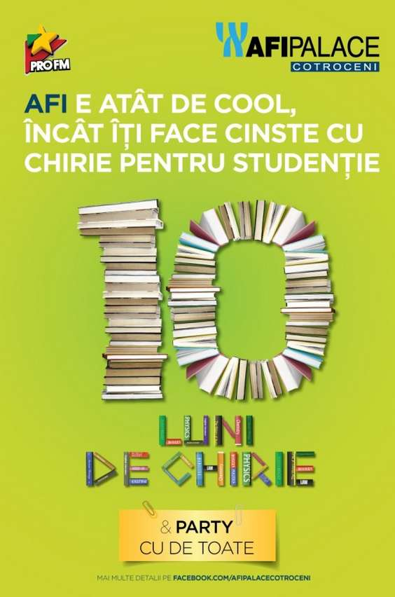Campanie studenti AFI Palace Cotroceni