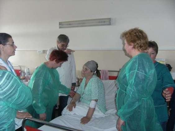 Curs infirmiere_Crucea Rosie_Practica in spital Bacau