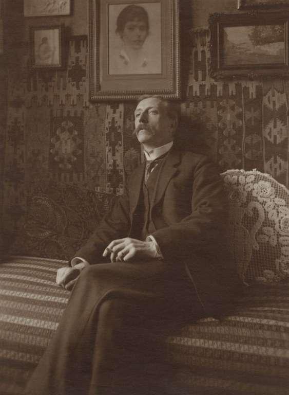 Gustave Marissiaux - Autoportret, cca 1919.