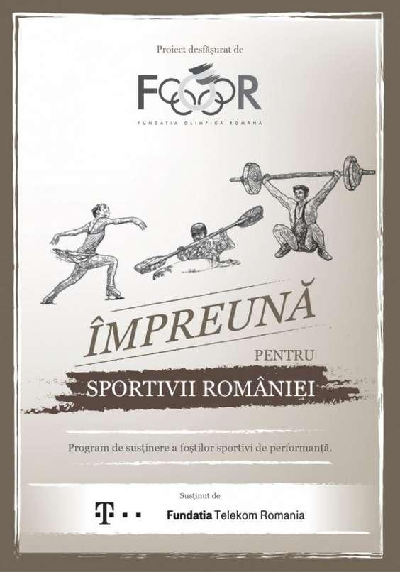 Impreuna pentru sportivii Romaniei