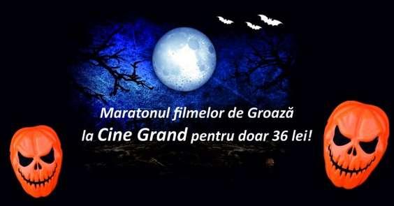 Maratonul filmelor de groaza la Cine Grand Titan