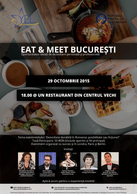 Poster Eat&Meet