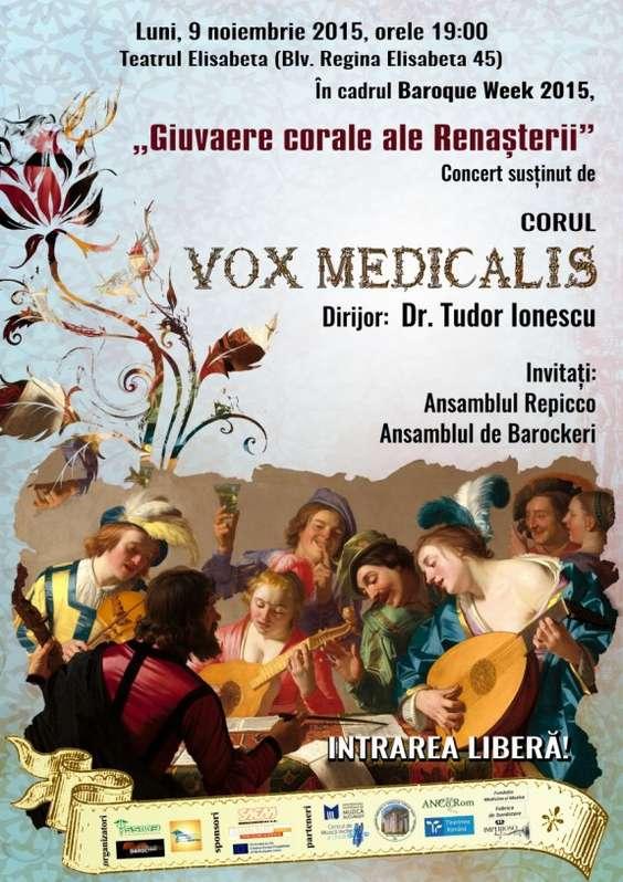 Afis Concert Vox Medicalis 09.11.2015