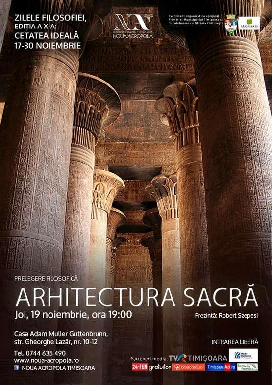 Arhitectura sacra Conferinta - MIC