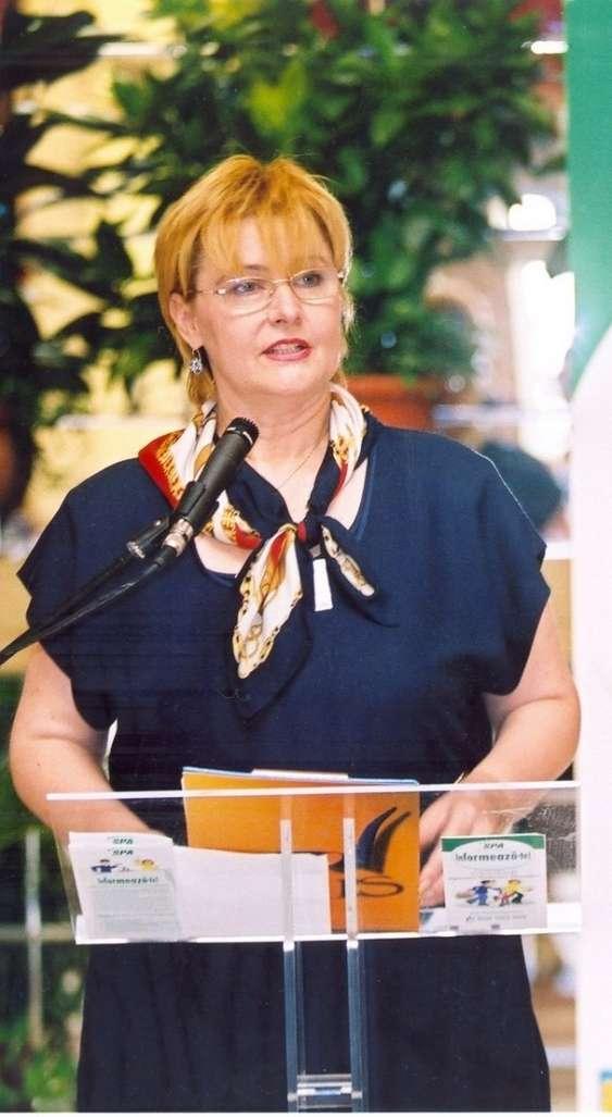 Silvia Bucur Presedinte Fundatia PRAIS
