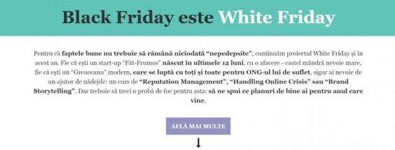 White Friday_Rogalski Damaschin