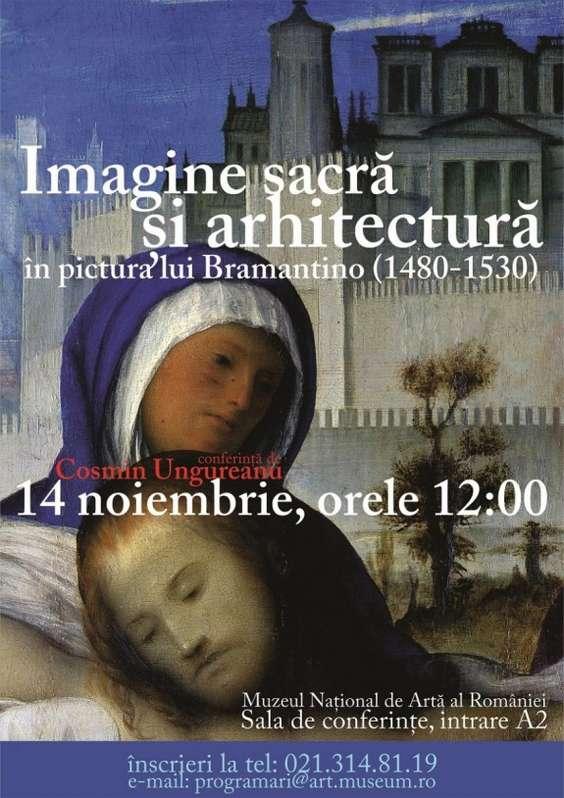 afis ''Imagine sacra si arhitectura''