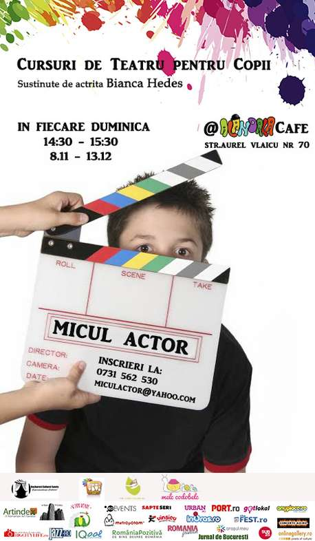 curs micul actor