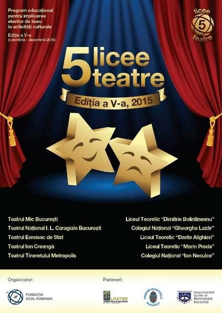 5Licee-5Teatre_Poster