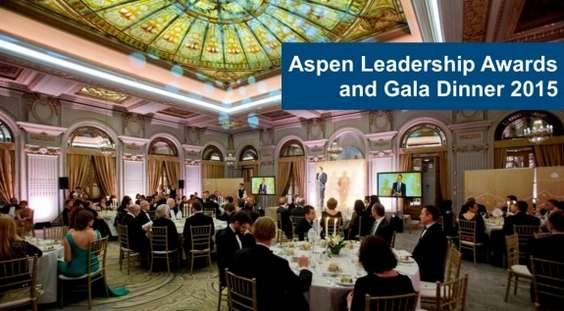Aspen Leadership Awards and Gala Dinner 2015