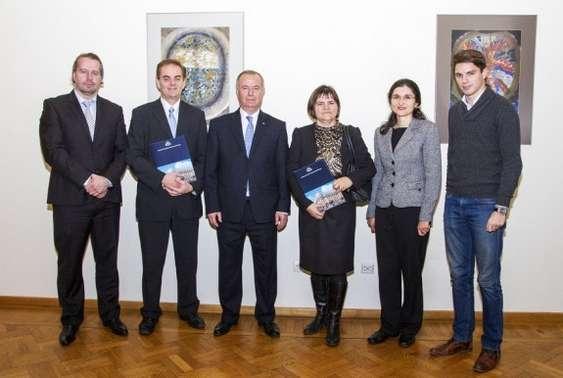 Foto - semnarea parteneriatului CIMA-ASE
