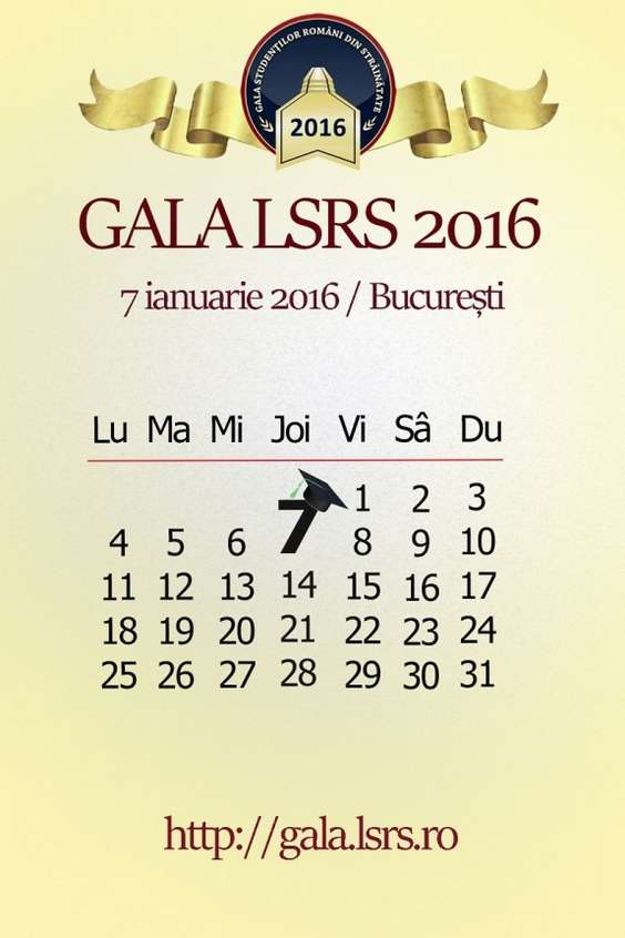 Save the Date Gala LSRS