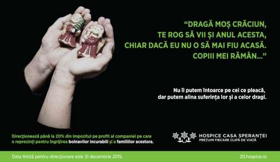 Vizual campanie HOSPICE