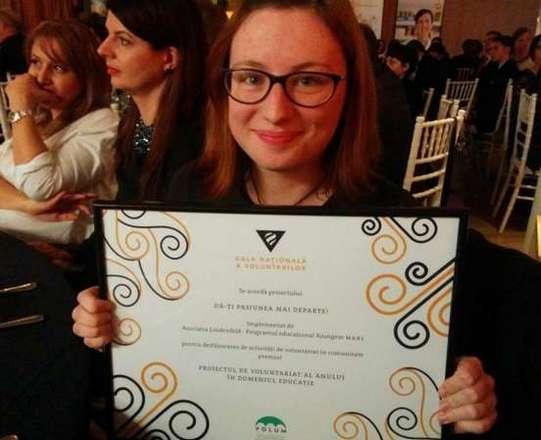 4. Premiul Proiectul anului in educatie