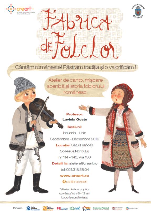 Afis Fabrica de Folclor