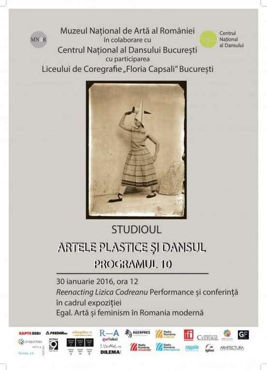 Studioul Artele Plastice si Dansul. Programul 10