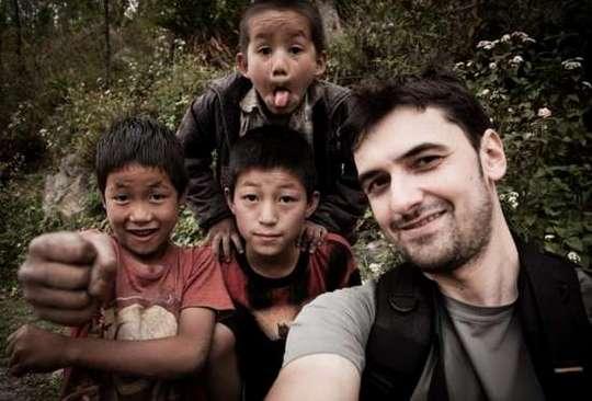 Alex Gavan in Nepal