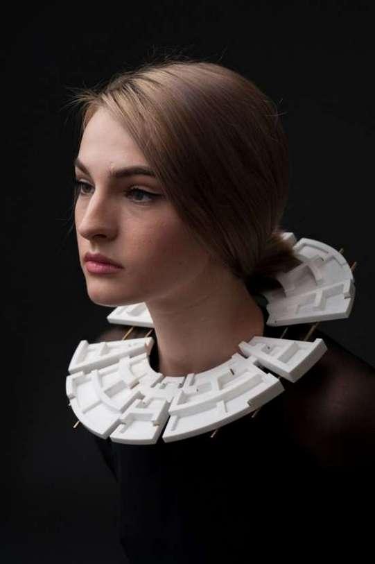 Andreia Popescu - FOUND.LOST.FOUND. Photo credits_ Alexandru Boghian. Make-up Ioana Covali. Model Irina Ursache_web