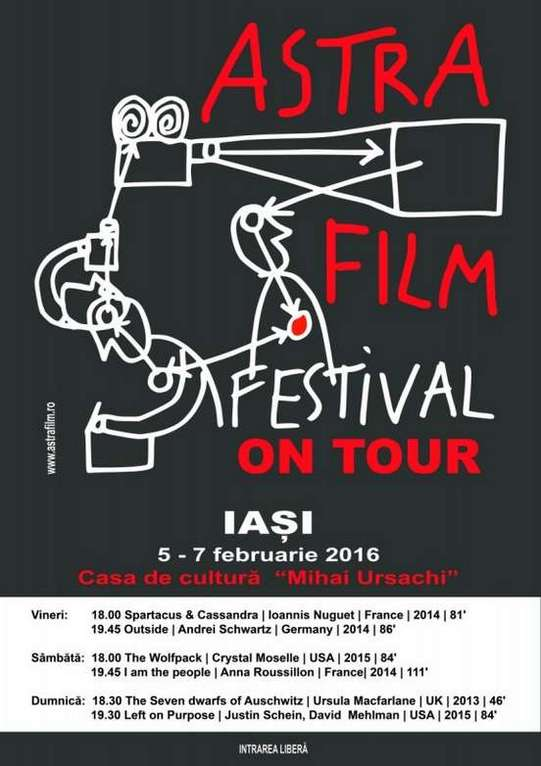 Astra Film on Tour la Iasi
