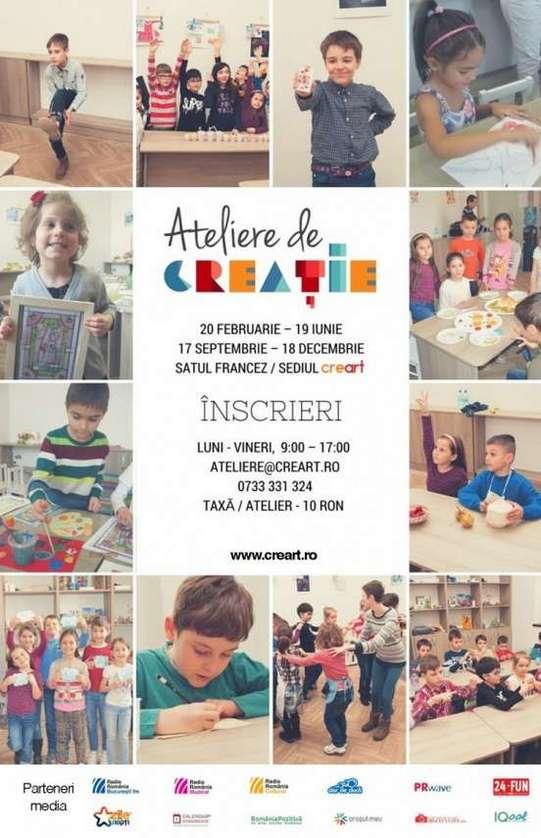 Ateliere de creatie - Afis
