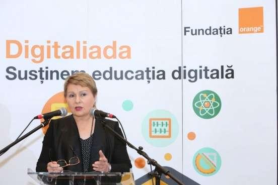 Dana Deac - Presedinte al Consiliului Director Fundatia Orange